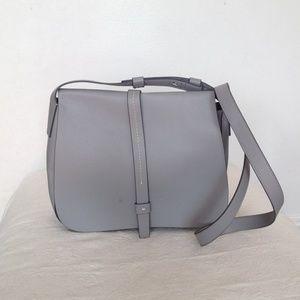 Cool Grey cross body bag